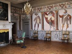Château de Fléchères - The chambre de la Parade