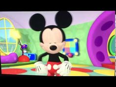 From the beginning of Minnie's Bee Story. Mickey greets the viewer before Minnie arrives in the Clubhouse. Mickey Mouse Clubhouse, Minnie Mouse, Mickey Mouse Wallpaper, Farm Fun, Fun Fair, Disney Junior, Mickey And Friends, Full Episodes, Make It Yourself