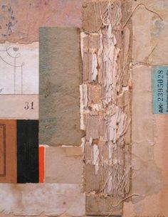 """FS 2926, 7""""x 5.5"""" Cécile Touchon, collage artist"""