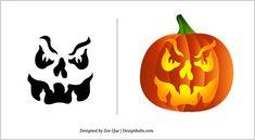 Halloween-2012-Pumpkin-Carving-Patterns-15-Scary-Stencils-Template-11.jpg (500×274)