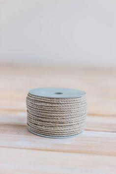 LINEN macrame cord 4mm, linen cord, TWISTED macrame cord, twisted cord rope, macrame rope 4mm, macrame yarn, corde macramé, crochet rope Macrame Supplies, Crochet Supplies, Crochet Cord, Macrame Design, Macrame Cord, Tote Pattern, Crochet Handbags, Simple Bags, Chunky Yarn