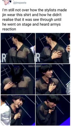 We should have just tried to hold it in.THIS IS WHY I LOVE THE STAFF - BTS You are in the right place about Dad Humor ecards Here we offer you the most beautiful pictu Bts Jin, Bts Bangtan Boy, Bts Boys, Namjoon, Seokjin, Bts Memes Hilarious, Bts Funny Videos, Funny Tweets, K Pop