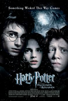 Harry Potter and the Prisoner of Azkaban. Directed by Alfonso Cuaron. Starring Daniel Radcliffe, Emma Watson and Rupert Grint.