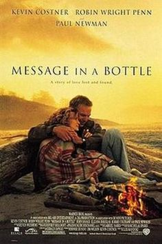 """""""Message in a Bottle"""" book and movie by Nicholas Sparks"""