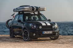 BMW have unveiled three MINI camping concepts aimed at music festival goers and outdoor types in need of overnight solutions. Country Man, Mini Countryman, Weekend Trips, Weekend Getaways, Hill Station, Camping, Vacation Spots, Concept Cars, The Great Outdoors