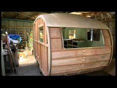 Time Lapse Caravan Construction Video - Concept Caravans - YouTube