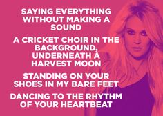 "Carrie Underwood, ""Heartbeat"" 