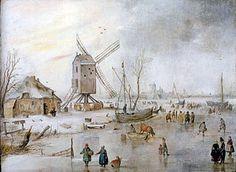 Hendrick Avercamp - IJsgezicht (2)