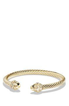 David Yurman 'Renaissance' Bracelet in 18k Gold available at #Nordstrom