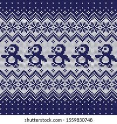 Knitted Christmas Vector Seamless Decorative Pattern Arkivvektor (royaltyfri) 1559830748 Christmas Knitting, Quilts, Crochet, Pattern, Images Photos, Vectors, Visual Effects, Useful Tips, Dots