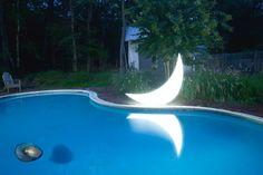 Pool of moonlight. Reiben house. Accokeek.