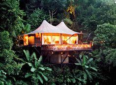 condenasttraveler:  Thailand Travel Guide | Four Seasons Tented Camp Golden Traingle