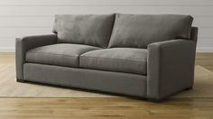 Grey Microfiber Couch
