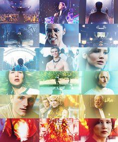Catching Fire Official Trailer stills!