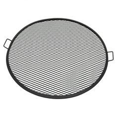 This heavy-duty round mesh steel fire pit cooking grate and is perfect for camping and more. Designed with a durable metal construction, this cooking grate is perfect for cooking over the open fire. Campfire Cooking Grate, Fire Pit Cooking Grill, Campfire Grill, Cooking On The Grill, Fire Pit Grate, Steel Fire Pit, Fire Pits, Grill Grates, Bbq Grill