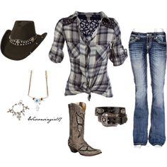"""""""Let there be cowgirls"""" by wisconsingirl17 on Polyvore"""