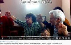 """Inside the Embassy """"Para el pueblo lo que es del pueblo"""" Bianca Jagger, Press Release, Youtube, Interview, Presentation, London, History, Youtubers"""