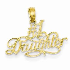 NEW-SOLID-14K-YELLOW-GOLD-1-DAUGHTER-CHARM-PENDANT-FOR-NECKLACE-18MM-X-22MM