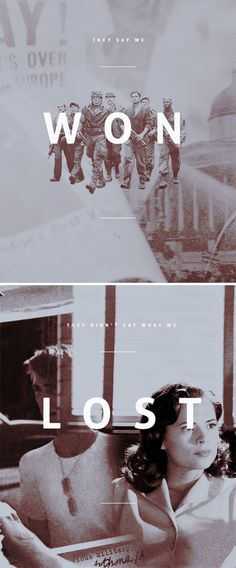 ''They say we won. They didn't say what we lost.'' :( / Steve Rogers, The Howling Commandos & Peggy Carter