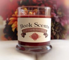 Celtic Moonlight  Book Inspired Candle  by BookScentsCandles, $14.00