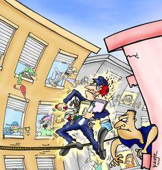 Ilustração para Revista Espaço Imóvel.