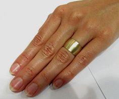 Matte brushed Gold Wedding Ring Wedding Band by Gispandesigns Wide Wedding Bands, Gold Wedding Rings, Quality Diamonds, Matte Gold, Yellow Gold Rings, Or Rose, Knot, Cigar Band, Ring Shots