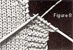 Tricot à l'aiguille - Technique : Les bordures
