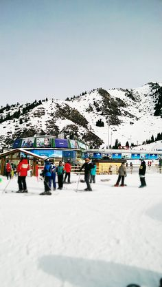 Kazakhstan, Shymbulak Ski Resort