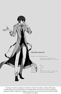 Bungou Stray Dogs 6: Murder on D Street at MangaFox.me