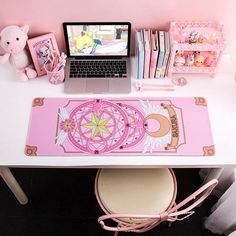 kawaii Sailor Moon and Card Captor Sakura Mouse Pad - Gamer House Ideas 2019 - 2020