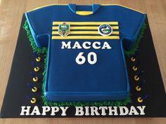 Parramatta Eels jersey cake!