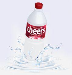 Water bottle design,