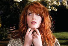 Florence Welch  - az életre kelt Klimt-festmény -