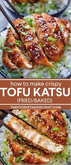Tofu Dinner Recipes, Vegan Tofu Recipes, Tofu Meals, Vegan Dishes, Veggie Recipes, Food Dishes, Asian Recipes, Whole Food Recipes, Cooking Recipes