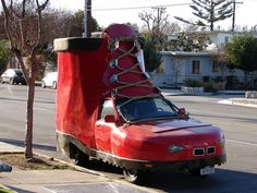 Most Weird Cars Ever...The Shoe Car