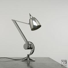 Hadrill & Horstmann Lamp - 1950's design (yet still modern!), simple, sleek and true quality.