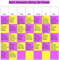 April ab workout