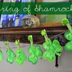 A String of Shamrocks