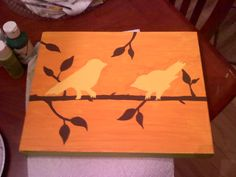 Birdy painting :)