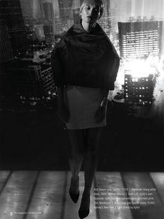 """""""On"""" magazine - """"Metropolis"""" fashion editorial"""