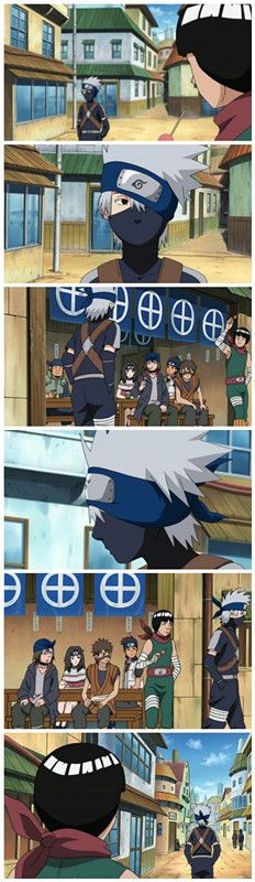 Young Kakashi & Guy   Naruto Shippuden