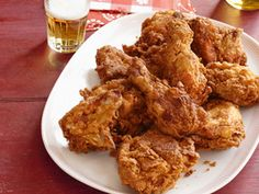 The Best Kwanzaa Recipes Recipes : Food Network Spicy Fried Chicken, Fried Chicken Recipes, Chicken Snacks, Chicken Bites, Teriyaki Chicken, Grilled Chicken, Baked Chicken, Food Network Recipes, Cooking Recipes