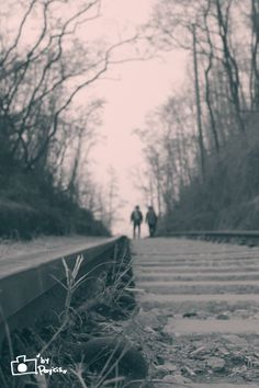 on the railroad