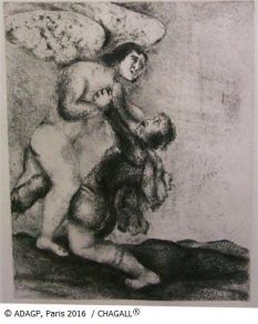 Jacob wrestling with the angel 2