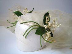 Kate Moss's Wedding Veil ~ The Juliet Cap