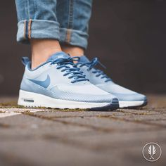 be24953fddce ... Nike W Air Max Thea Txt Blue Grey ...