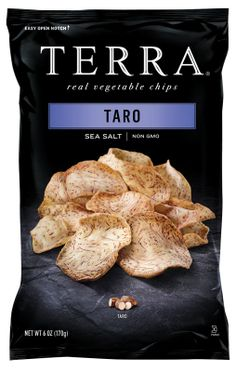 TERRA®  Vegetable  Chips  combine  the beautiful  colors  and delicious flavors  of  the earth's own vegetables into a perfect crunchy snack.
