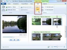 This article shows the best way to split video files in Windows live movie maker. - onlineworldinformation - Welcome Education Windows Movie Maker, Split Video, Tool Music, Film Class, Free Films, Video X, Picture Editor, Home Movies, Video Maker