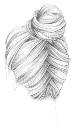 Comment dessiner des cheveux en chignon prot ger mes cheveux des frottements les coiffures - Comment dessiner une tresse ...