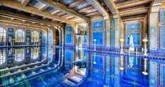 Indoor Pool at Hearst Castle by Kay Gaensler, via Flickr. http://www.flickr.com/photos/gaensler/7087211539/